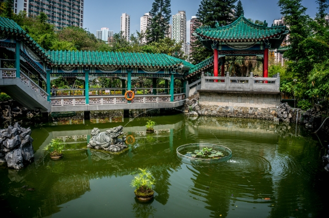 Gardens of Wong Tai Sin Temple