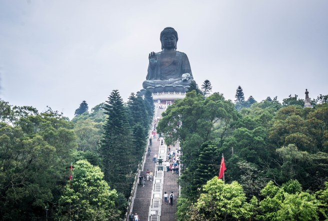 268 steps to The Big Buddha