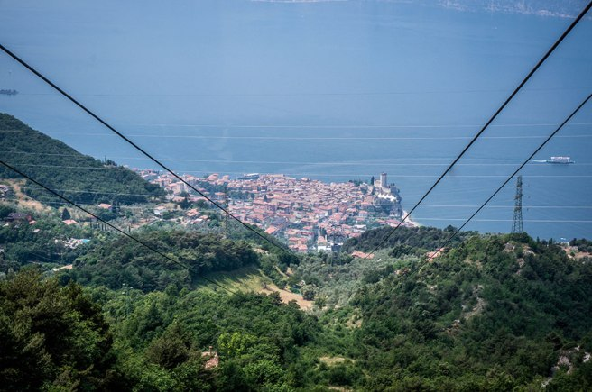 View from the Malcesine Cable Car