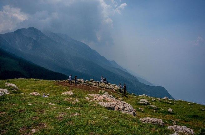 Monte Baldo Malcesine Lake Garda Italy