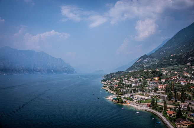 Ferry back to Limone