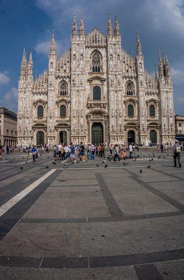 Obligatory Duomo di Milano picture