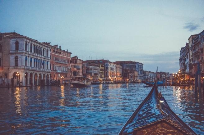Amazing Gondola Ride in Venice, Italy