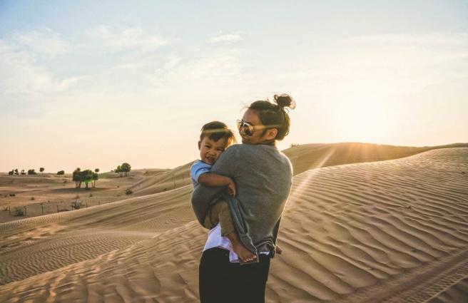 FunTours trip to the Desert in Dubai!