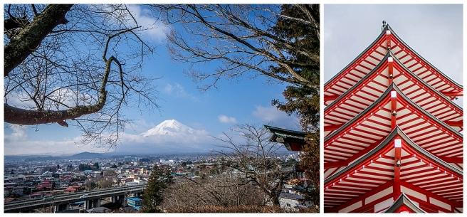 Chureito Pagoda Mt Fuji